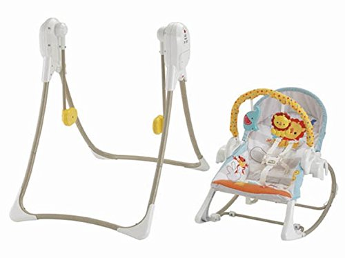 Fisher price baby gear bfh07 altalena 3 in 1 cuccioli for Altalena chicco amazon