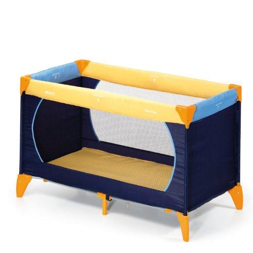 Hauck 604038 dream 39 n play letto da viaggio giallo blu celeste yellow blu navy prima infanzia - Letto da viaggio ...