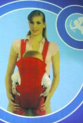 2ee7c3740058b1 Marsupio Porta-Bebè Original BABY CARRIER 100%, Zaino porta bimbo,  Trasporto Rilassato con il tuo bambino/a che sempre sente il tuo calore